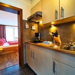 ap/comb. living-bed-room/shower, bath,WC