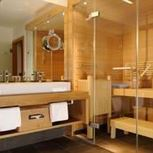 Spa Suite 60m² mit Bad+Dusche/WC, Sauna, Balkon