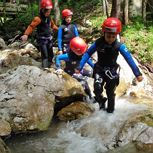Canyoning for kids