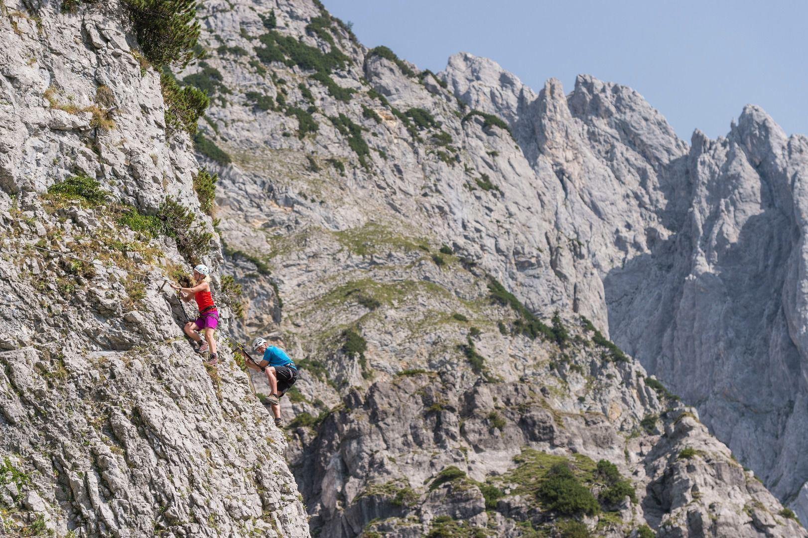 Klettersteig Zauchensee : Klettersteige chiemsee alpenland tourismus