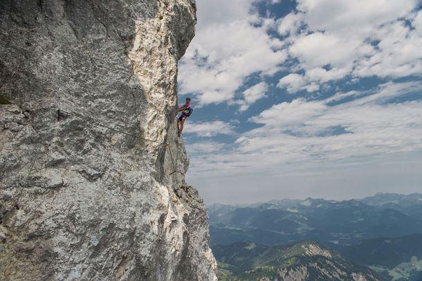 Klettersteig Bavaria : Alpspitze klettersteig via ferrata