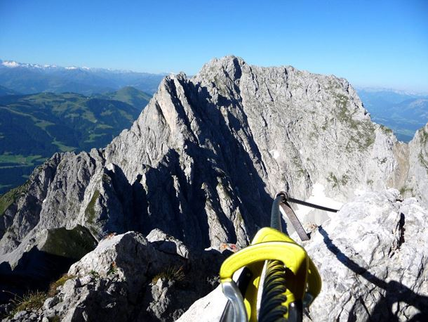 Klettersteig Wilder Kaiser Ellmauer Halt : Gipfeltour ellmauer halt