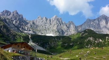 MTB Tour Obere Regalm Mountain Hut