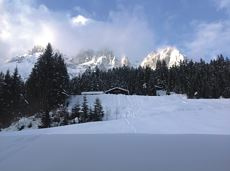 Graspoint-Niederalm winter hiking route