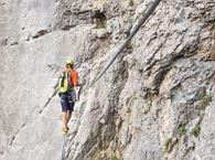 Klettersteig Klamml : Klettersteig klamml