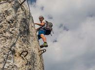 Klettersteig Wilder Kaiser : Kufsteiner klettersteig