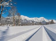 Schattseit cross-country skiing and hiking route